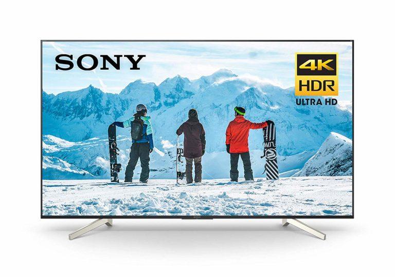 Sony 85-inch TV XBR85X850F Ultra 4K HD