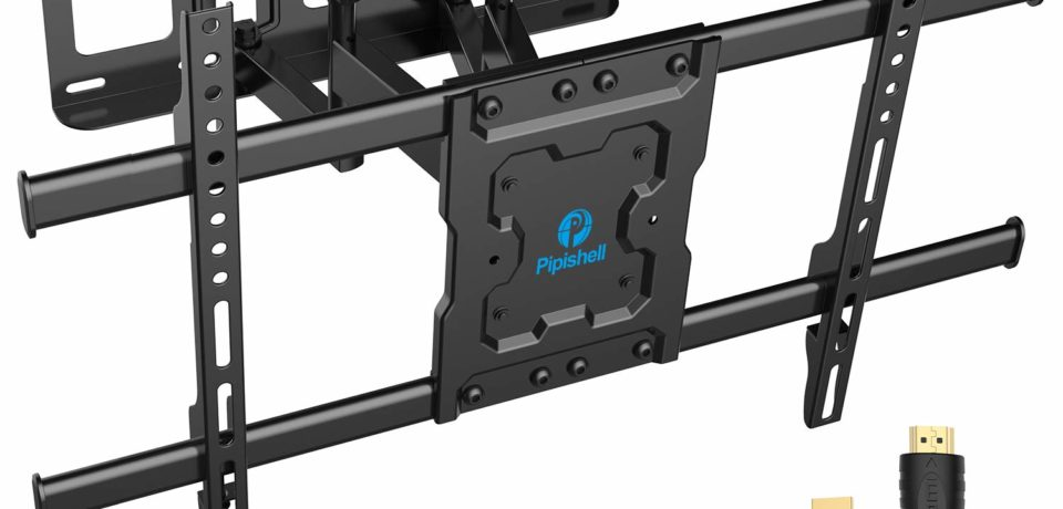 Pipishell Full Motion TV Wall Mount Bracket Review