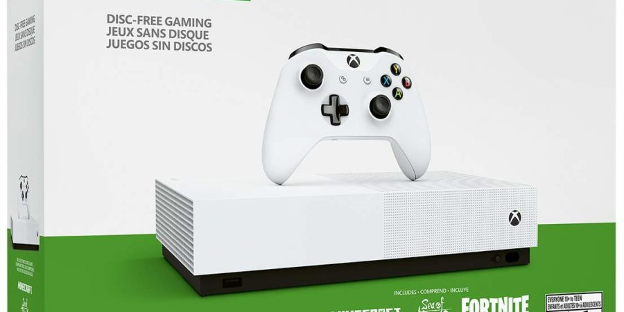 Xbox One S All Digital Review: The Future of the Gaming Console?