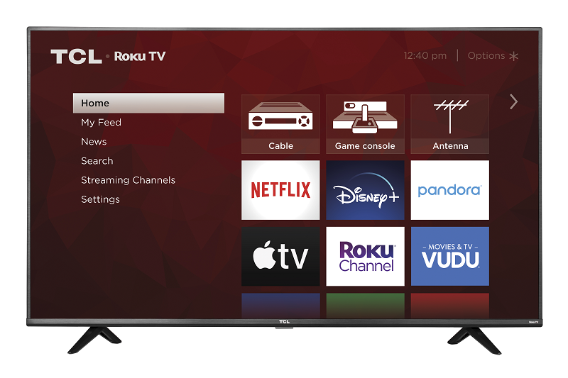 TCL 55 Class 4k UHD HDR LED Roku Smart TV 4 Series 55S20