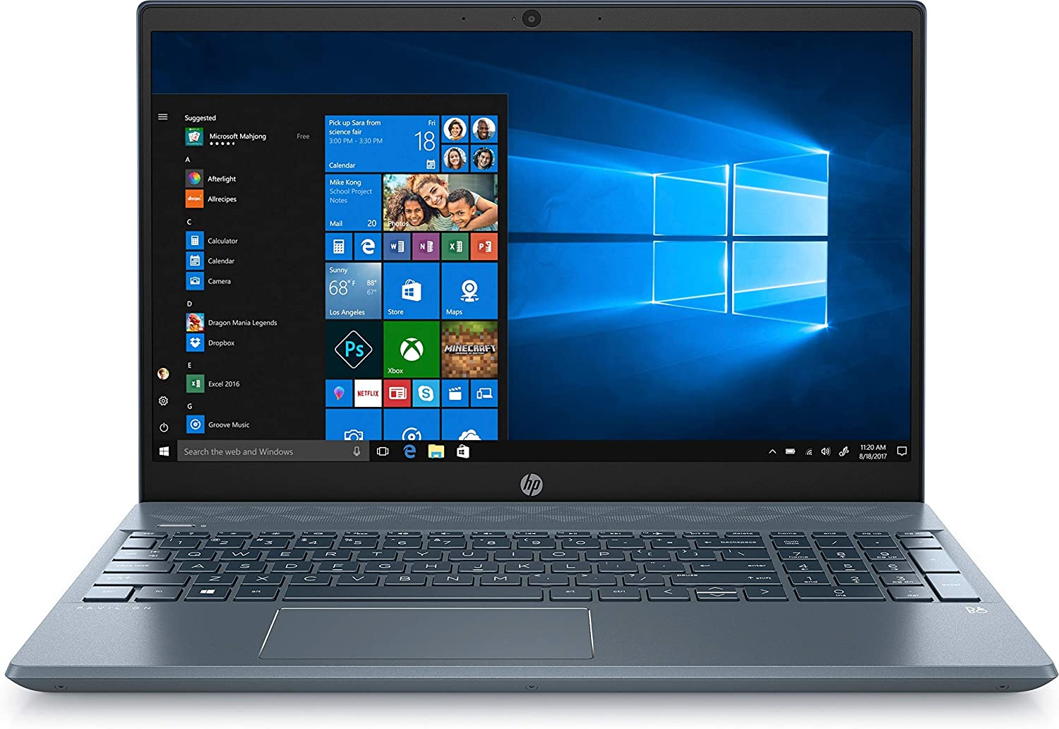 HP Pavilion 15.6 Horizon Blue Laptop review